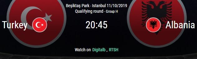 Turkey vs. Albania